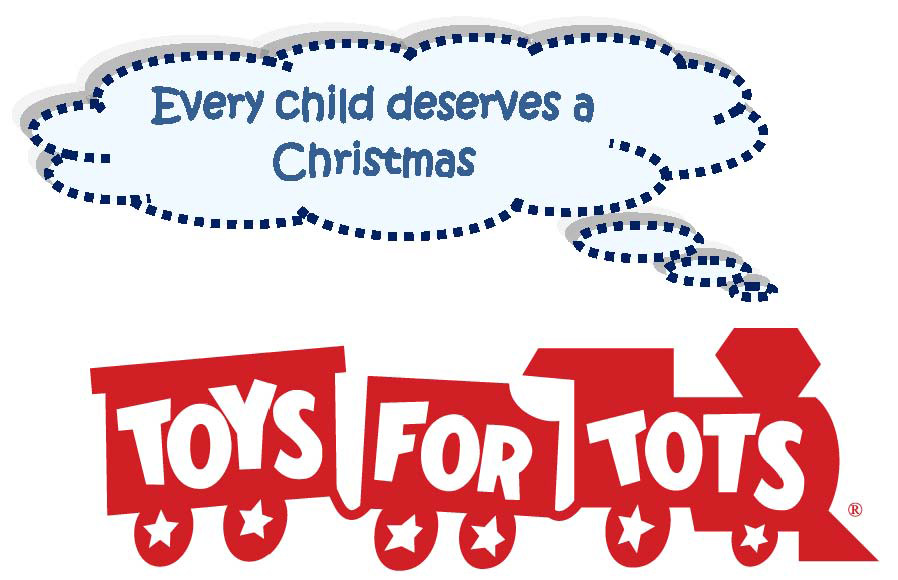 """Toys For Tots Foundation Logo : """"toys for tots give a way was total success"""
